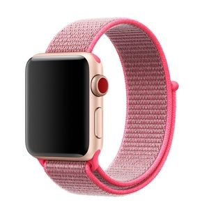NEW Neon Pink Woven Band For Apple Watch 38/40mm